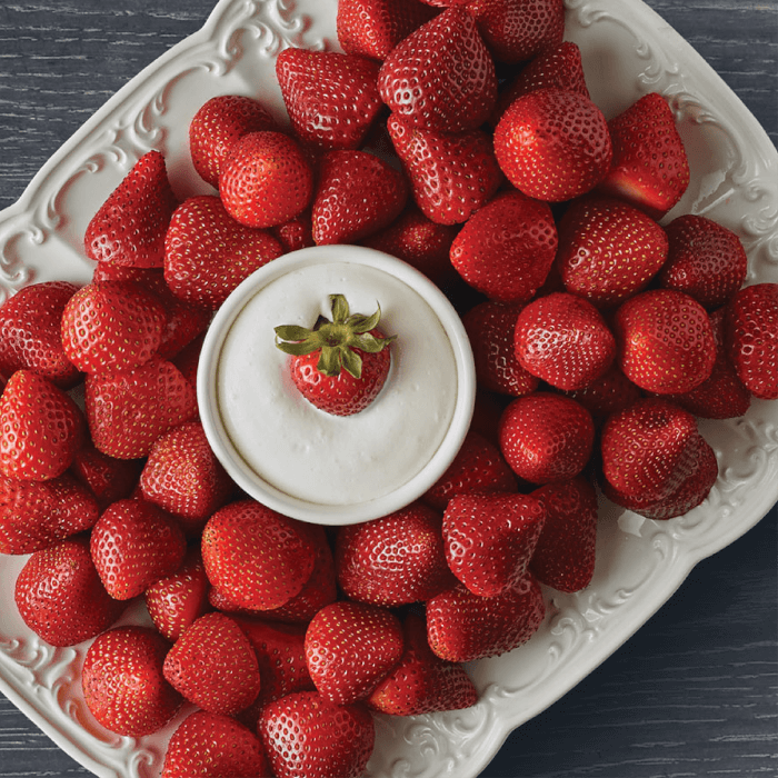 Fresh Strawberry Tray