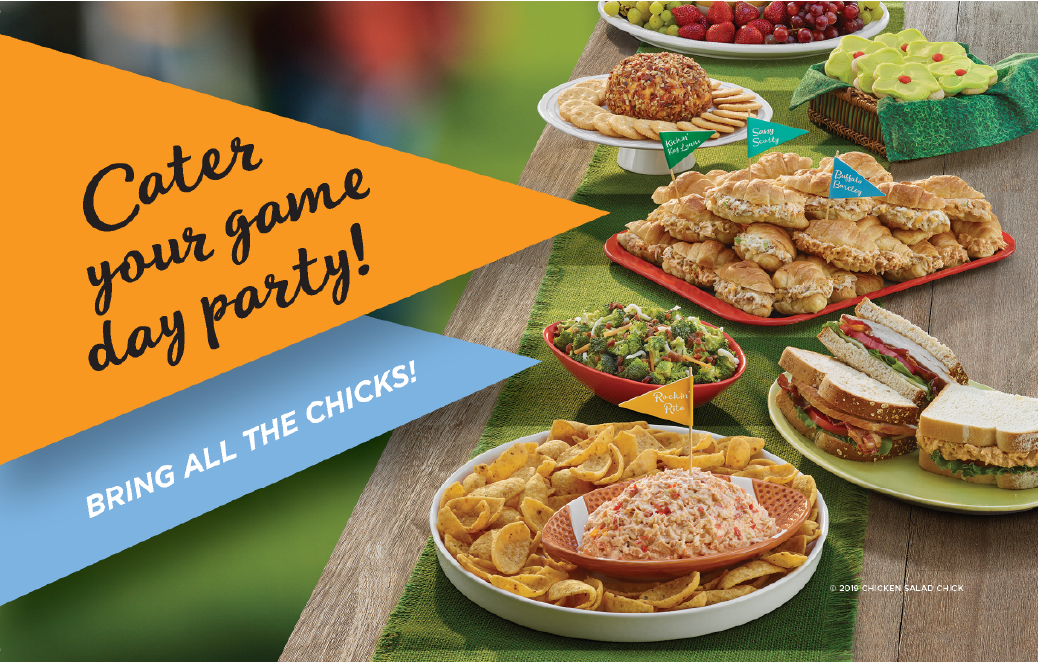Cater your game day party!